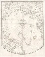 Polar Maps Map By William Home Lizars