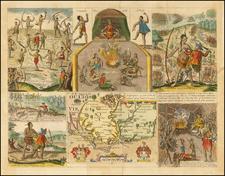 Southeast, Virginia and North Carolina Map By John Smith / Robert Vaughan