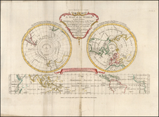World and Polar Maps Map By Frederic Hervey