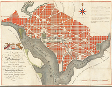 Washington, D.C. Map By John Russell