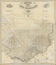 San Francisco Map By William Eddy  &  Alexander Zakreski