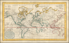 World Map By Delamarche