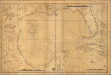 Florida, South, Texas, Caribbean and Other Islands Map By Richard Holmes Laurie