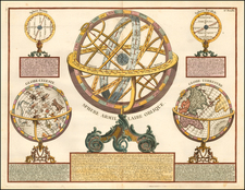 Celestial Maps Map By Pierre Bourgoin