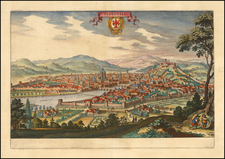Northern Italy Map By Matthaus Merian