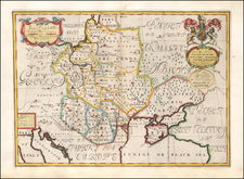 Poland, Hungary and Balkans Map By Edward Wells