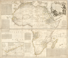 Africa Map By Robert Sayer