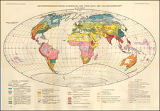 World Map By Augustus Herman Petermann