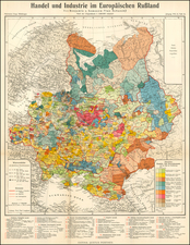 Russia Map By Augustus Herman Petermann