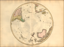 Southern Hemisphere and Polar Maps Map By John Pinkerton