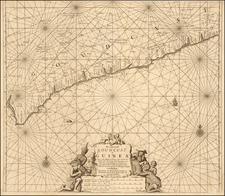 West Africa Map By Johannes Van Keulen