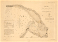 Washington Map By United States Coast Survey - George Davidson
