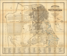San Francisco Map By A.L. Bancroft & Co.