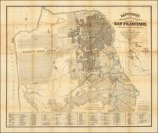 San Francisco & Bay Area Map By A.L. Bancroft & Co.