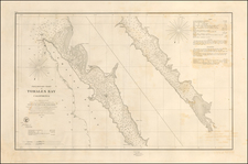 California Map By United States Coast Survey / George Davidson