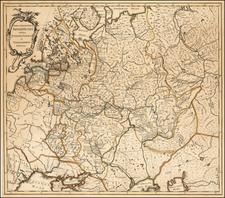 Russia Map By Johannes Treskot