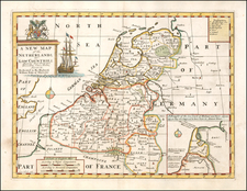 Netherlands Map By Edward Wells