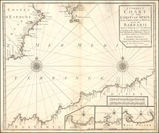 Spain, Mediterranean and North Africa Map By Charles Price