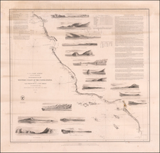 California Map By United States Coast Survey