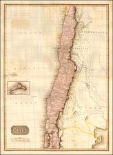 South America and Chile Map By John Pinkerton