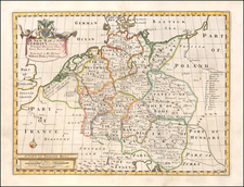 A New Map of Present Germany, Shewing Its Principal Divisions, Cities, Towns, Rivers, Mountains &c. By Edward Wells