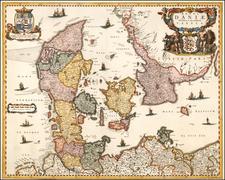 Denmark Map By Joachim Bormeester