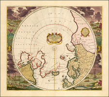 Polar Maps Map By Frederick De Wit