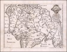 India Map By Melchisedec Thevenot / William Baffin