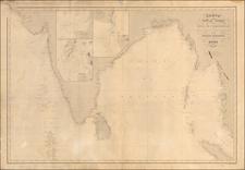 India & Sri Lanka and Malaysia Map By Aime Robiquet