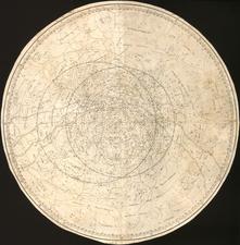 Celestial Maps Map By Johann Elert Bode / Franz Anton Schraembl
