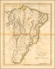 Brazil Map By Matthew Carey