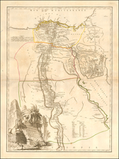 Egypt Map By Didier Robert de Vaugondy