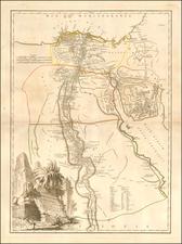 Egypt Map By Didier Robert de Vaugondy