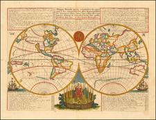 World Map By Henri Chatelain