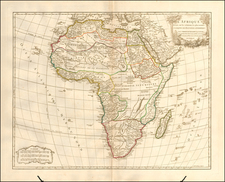 Africa Map By Didier Robert de Vaugondy