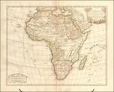 Africa Map By Didier Robert de Vaugondy