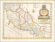 Southern Italy Map By Edward Wells