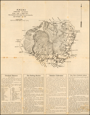Hawaii and Hawaii Map By H. E. Newton