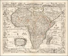 Africa Map By John Overton