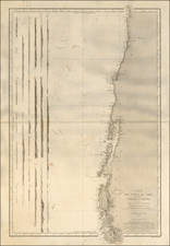Chile Map By Depot de la Marine