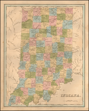 Midwest Map By Thomas Gamaliel Bradford