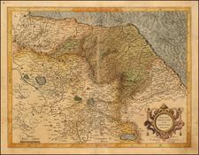 Marchia Anconitna cum Spoletano Ducatu By  Gerard Mercator