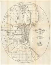Wisconsin Map By Lipman & Riddle