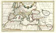 Europe, Europe, Mediterranean, Asia, Central Asia & Caucasus and Greece Map By Christoph Cellarius