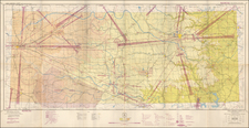 Oklahoma & Indian Territory Map By U.S. Coast & Geodetic Survey