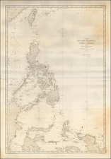 Philippines and Other Islands Map By Depot de la Marine