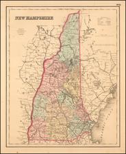 Colton's New Hampshire By Joseph Hutchins Colton