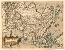 Asia, Australia & Oceania and Oceania Map By Abraham Ortelius