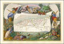 Algerie. Colonies Francaise. By Victor Levasseur