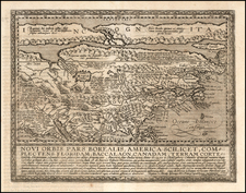 Polar Maps and North America Map By Matthias Quad